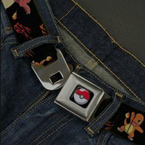 Pokemon Poke Ball Seatbelt Belt